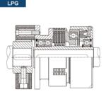 Esquema Montaje del Embrague Neumático Multidisco LPG