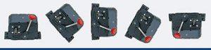 Variador de velocidad en varia en varias disposiciones angulares